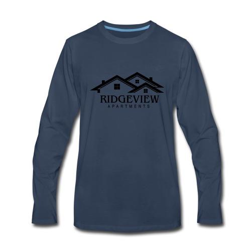 Ridgeview Apartments - Men's Premium Long Sleeve T-Shirt