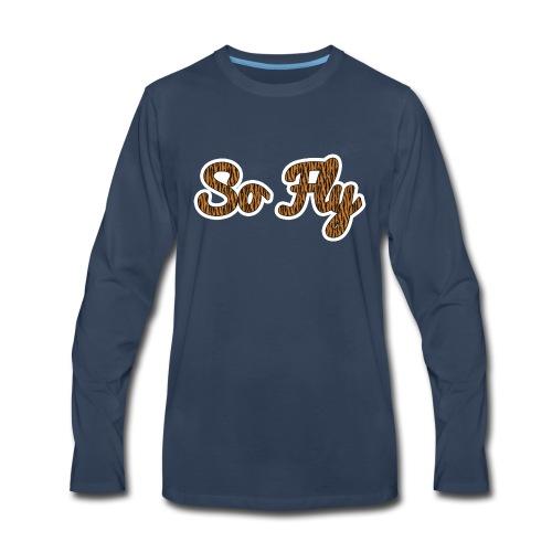 So Fly Tiger - Men's Premium Long Sleeve T-Shirt