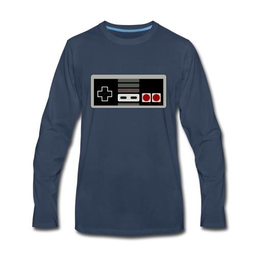 Retro Gaming Controller - Men's Premium Long Sleeve T-Shirt