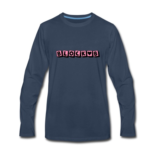 block b - Men's Premium Long Sleeve T-Shirt