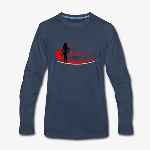 Fit 'n Fierce Athletics full logo - Men's Premium Long Sleeve T-Shirt