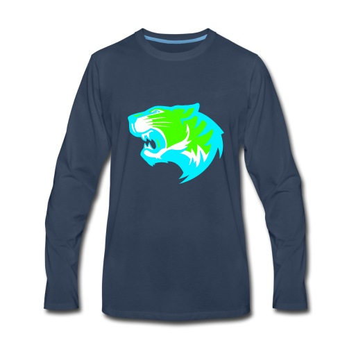 TIGER GAMING - Men's Premium Long Sleeve T-Shirt