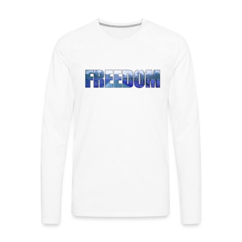 Freedom Photography Style - Men's Premium Long Sleeve T-Shirt