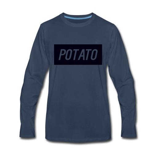 The Potato Shirt - Men's Premium Long Sleeve T-Shirt