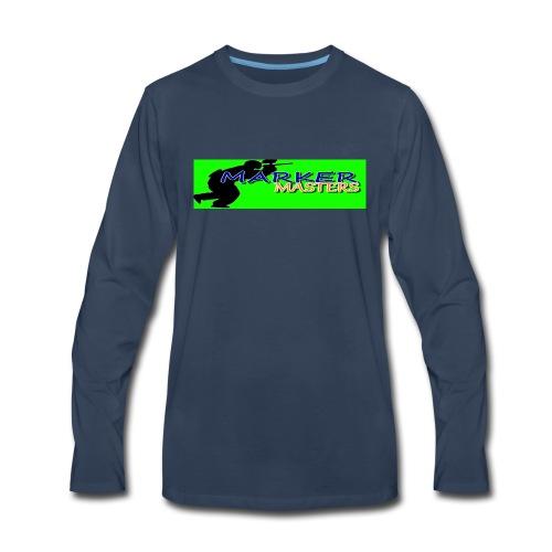 Marker Masters (Green) - Men's Premium Long Sleeve T-Shirt