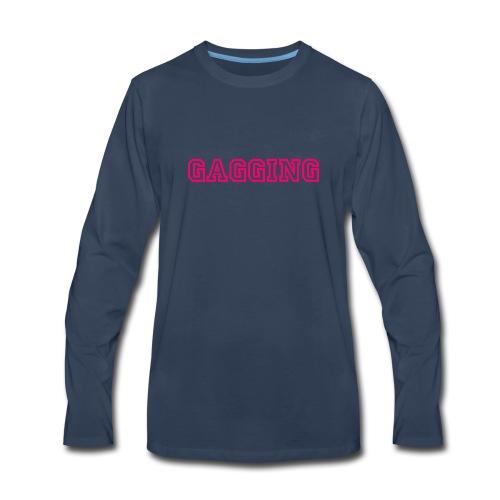 GAGGING - Men's Premium Long Sleeve T-Shirt