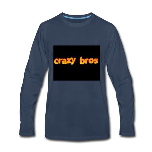 Crazy Bros logo - Men's Premium Long Sleeve T-Shirt
