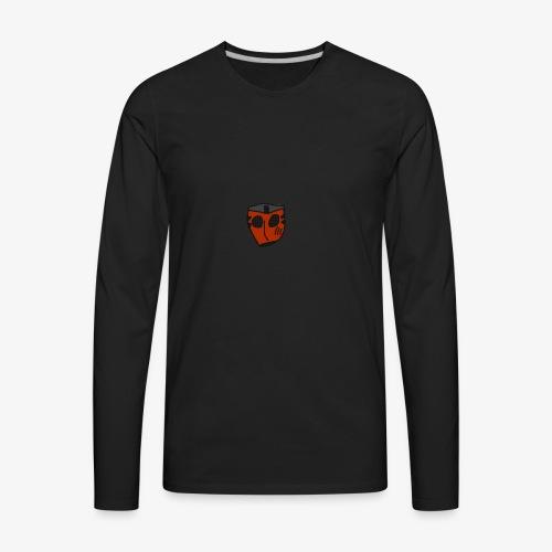 Scratched Mask MK IV - Men's Premium Long Sleeve T-Shirt