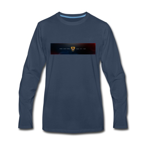 the King Brawly Banner - Men's Premium Long Sleeve T-Shirt