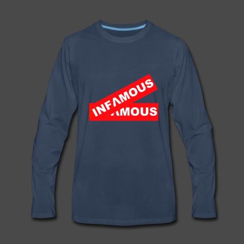 Infamous tag - Men's Premium Long Sleeve T-Shirt