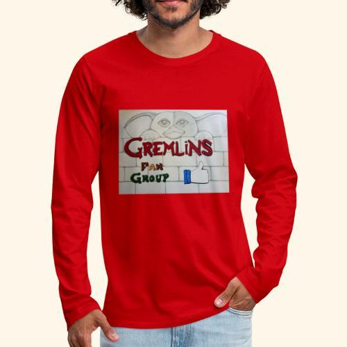 Gremlins Fan Group Logo - Men's Premium Long Sleeve T-Shirt