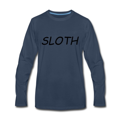 SLOTH XL - Men's Premium Long Sleeve T-Shirt