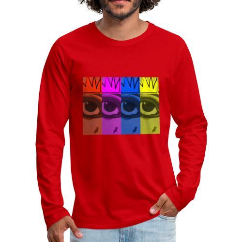 Eye Queen - Men's Premium Long Sleeve T-Shirt