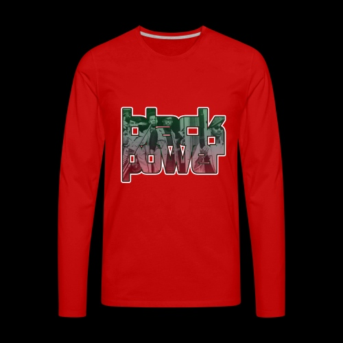 Black Power - Men's Premium Long Sleeve T-Shirt