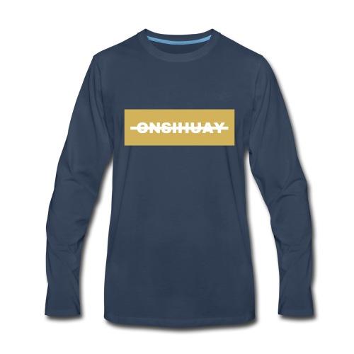 ONSIHUAY (Gold Editon) - Men's Premium Long Sleeve T-Shirt