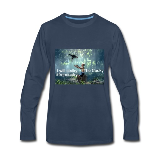 Stalky The Cocky Clothing - Men's Premium Long Sleeve T-Shirt