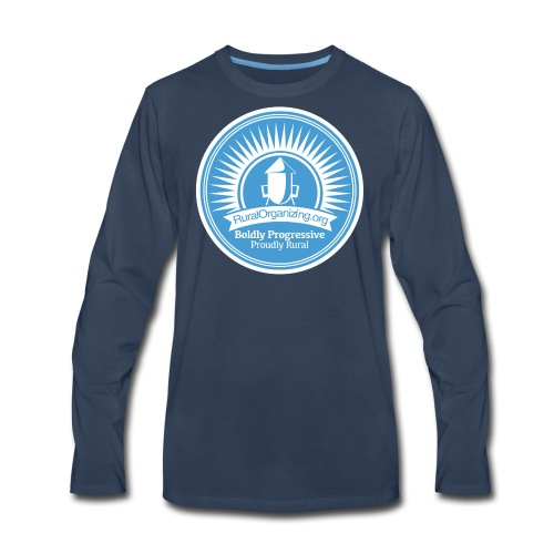 RuralOrganizin.org Seal - Men's Premium Long Sleeve T-Shirt