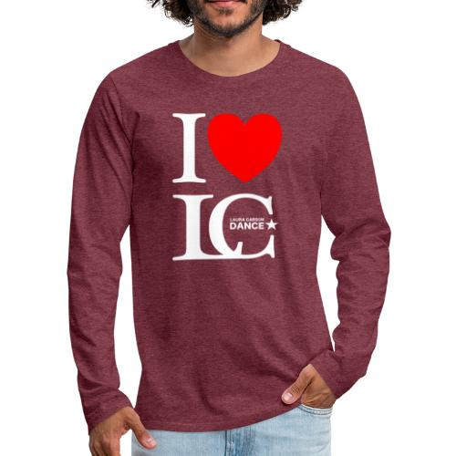 I Heart LCDance - Men's Premium Long Sleeve T-Shirt
