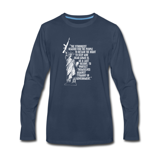 Right To Bear Arms - Men's Premium Long Sleeve T-Shirt