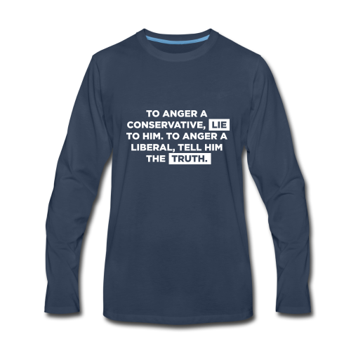 The Truth Hurts Liberals - Men's Premium Long Sleeve T-Shirt