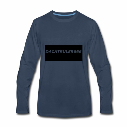 DaCatRuler666 1'st merch set - Men's Premium Long Sleeve T-Shirt