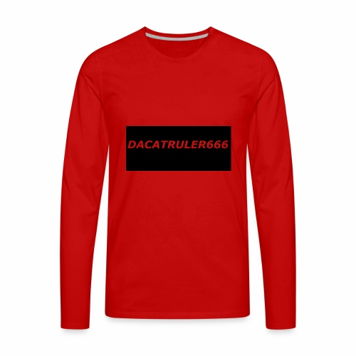 DaCatRuler666 1'st merch set - Men's Premium Long Sleeve T-Shirt