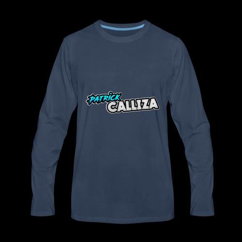 Patrick Calliza Official Logo - Men's Premium Long Sleeve T-Shirt