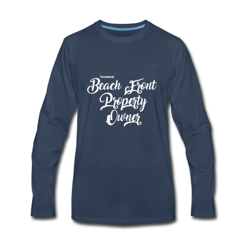 beach front - Men's Premium Long Sleeve T-Shirt