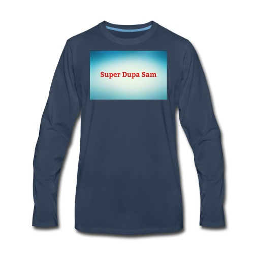 Super Dupa logo - Men's Premium Long Sleeve T-Shirt