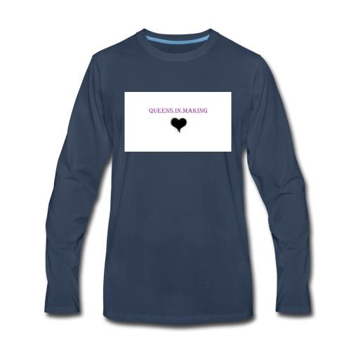 Queens.in.making - Men's Premium Long Sleeve T-Shirt