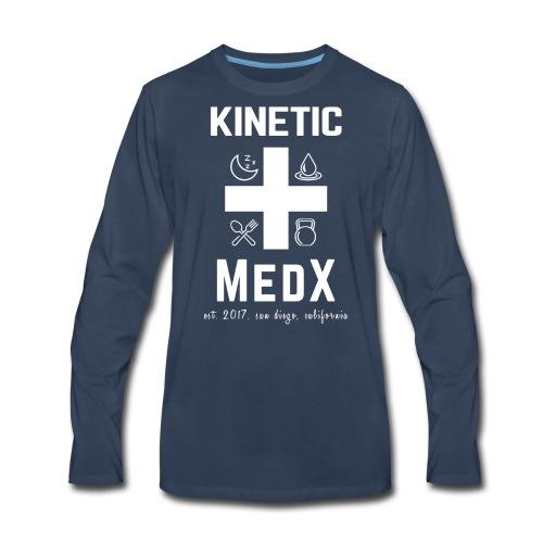 Kinetic MedX - Men's Premium Long Sleeve T-Shirt