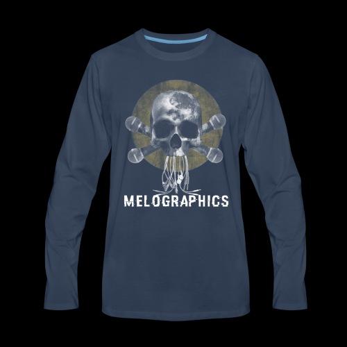 No Music Is Death - Men's Premium Long Sleeve T-Shirt
