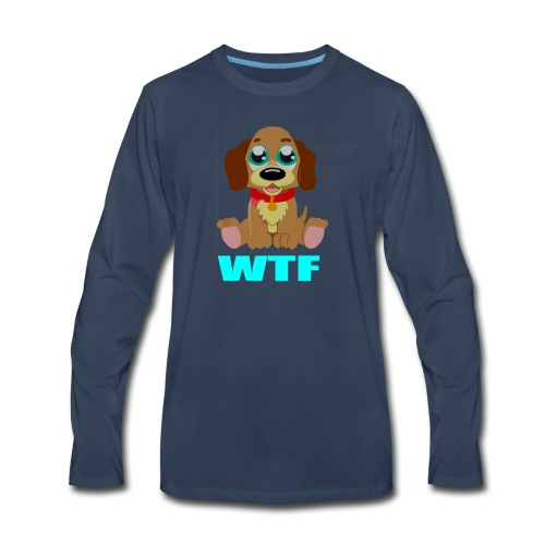 dog - Men's Premium Long Sleeve T-Shirt