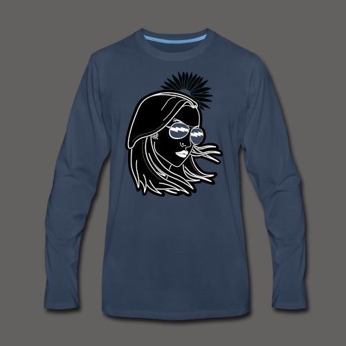 SurferGirl - Men's Premium Long Sleeve T-Shirt