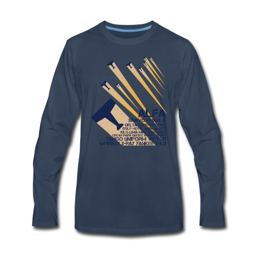 International Phonetic Alphabet - Men's Premium Long Sleeve T-Shirt