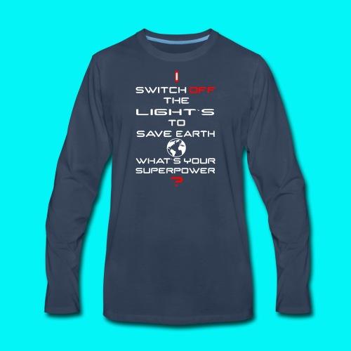 Save Planet - Men's Premium Long Sleeve T-Shirt