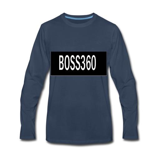boss titre - Men's Premium Long Sleeve T-Shirt