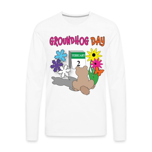 Groundhog Day Dilemma - Men's Premium Long Sleeve T-Shirt