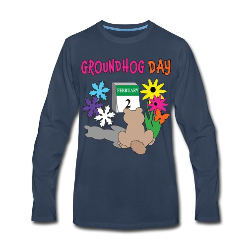 Groundhog Day Dilemma - Men's Premium Long Sleeve T-Shirt