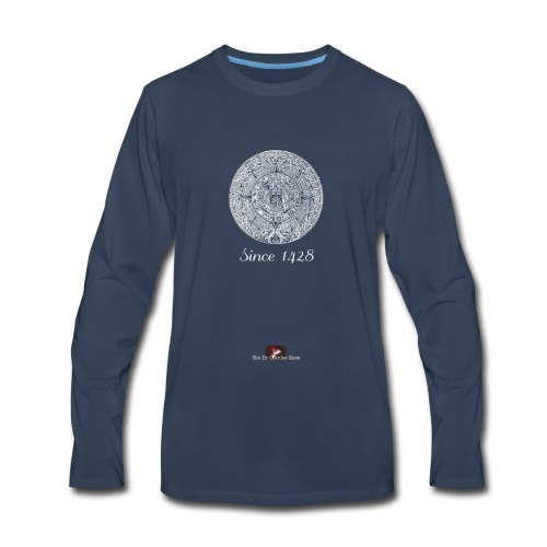 Since 1428 Aztec Design! - Men's Premium Long Sleeve T-Shirt