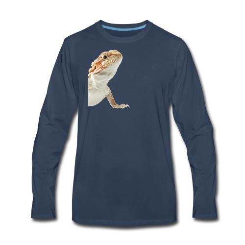 Beardy - Men's Premium Long Sleeve T-Shirt