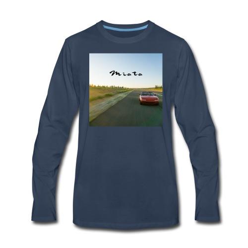 Miata Zen - Men's Premium Long Sleeve T-Shirt