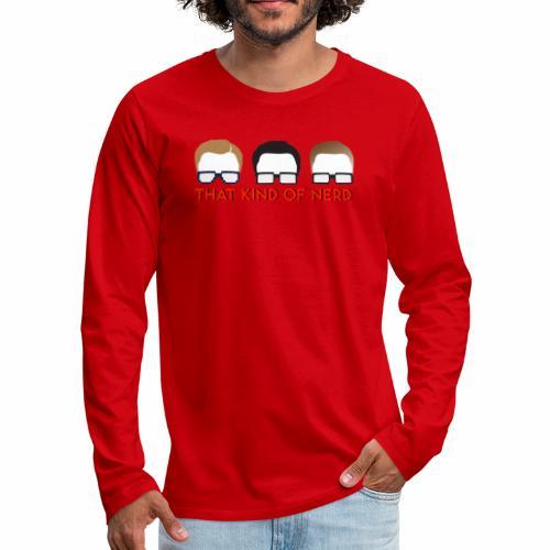 Hoodie Design - Men's Premium Long Sleeve T-Shirt