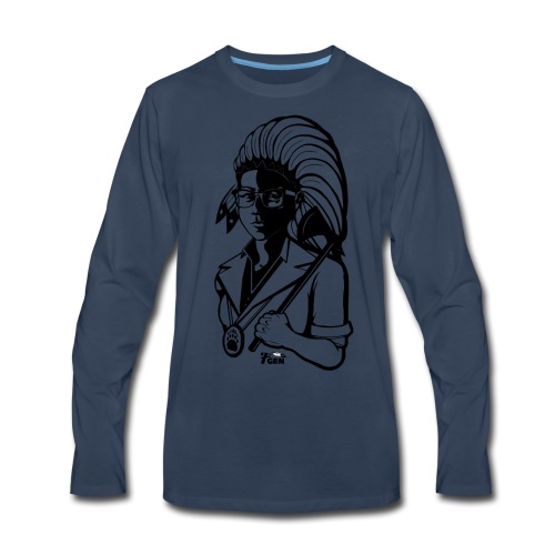 TwoLives - 7thGen - Men's Premium Long Sleeve T-Shirt