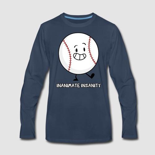 Baseball Single - Men's Premium Long Sleeve T-Shirt