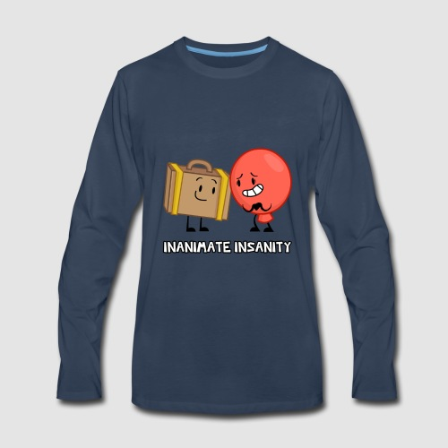 Suitcase Balloon Duo - Men's Premium Long Sleeve T-Shirt