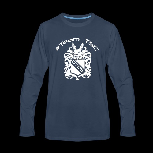 TeamTSC 05 Shield - Men's Premium Long Sleeve T-Shirt