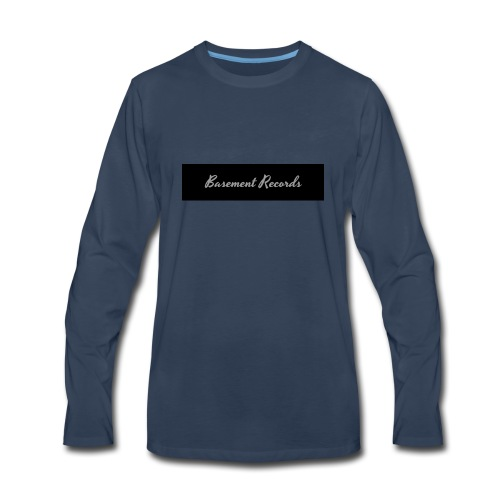 Basement Records - Men's Premium Long Sleeve T-Shirt