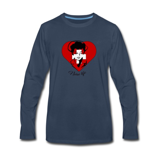 nurselife - Men's Premium Long Sleeve T-Shirt