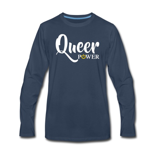 Queer Power T-Shirt 04 - Men's Premium Long Sleeve T-Shirt